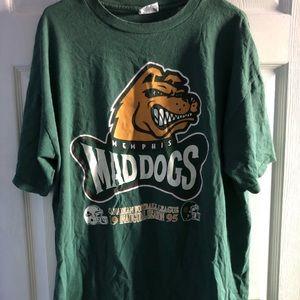 Vintage Memphis Mad Dogs Tee